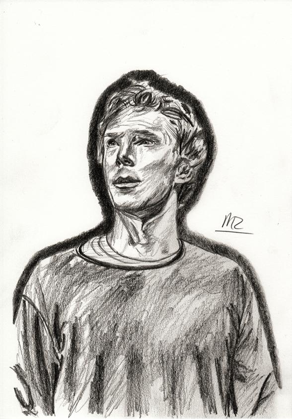 Benedict Cumberbatch as Hamlet