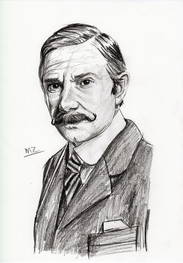Martin Freeman as Victorian John